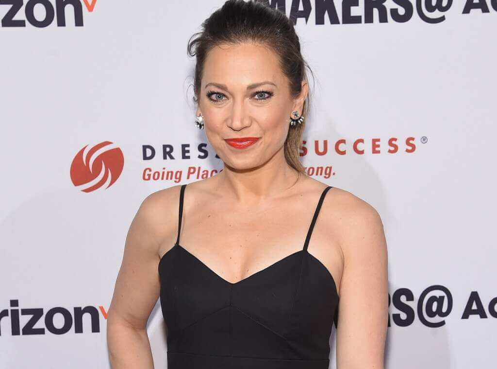 Ginger Zee hot look pic