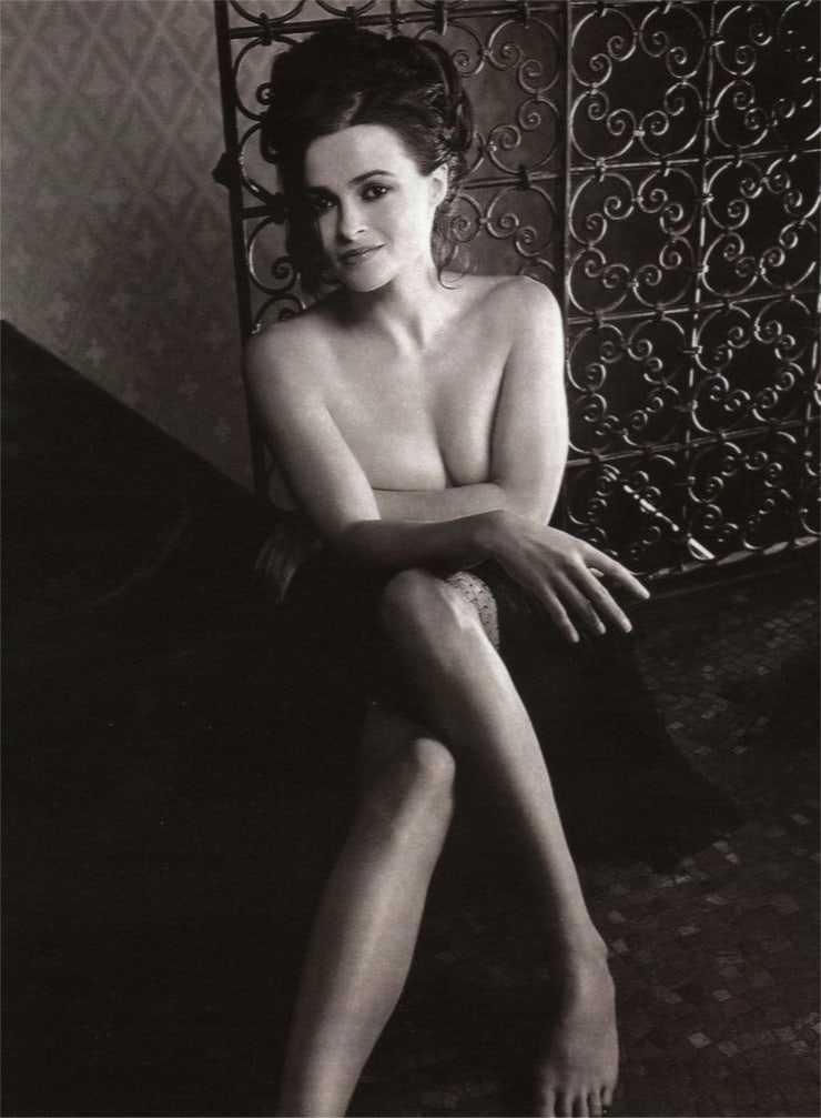 Helena Bonham Carter near nude pic