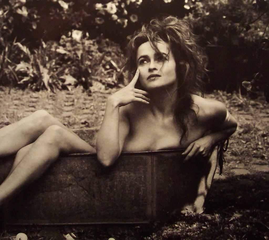 Helena Bonham Carter near nude