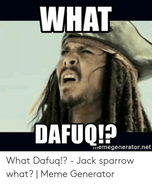Hilarious Dafuq memes