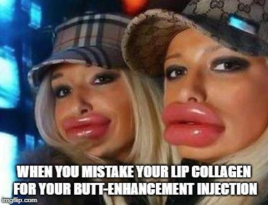 Hilarious Duck Face memes