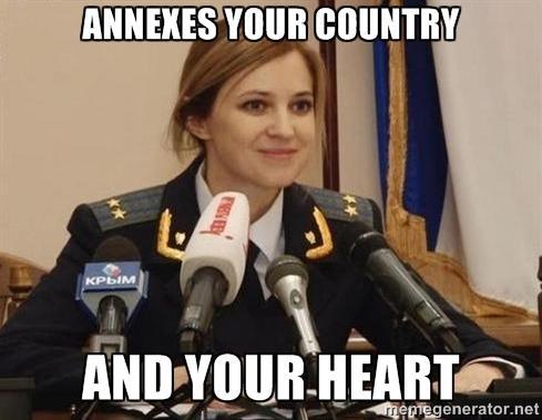 Hilarious Natalia Poklonskaya memes