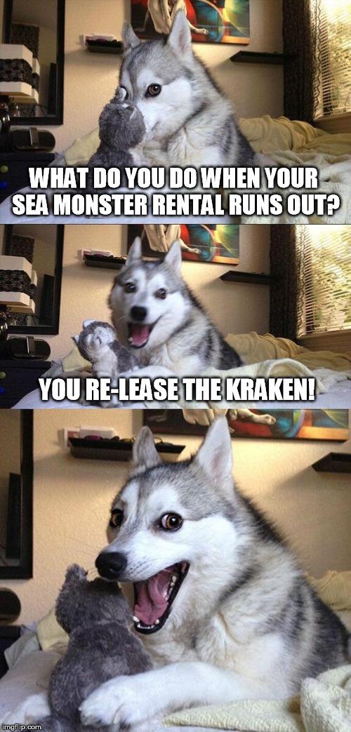 Hilarious Release The Kraken! memes