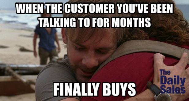 Hilarious sales memes