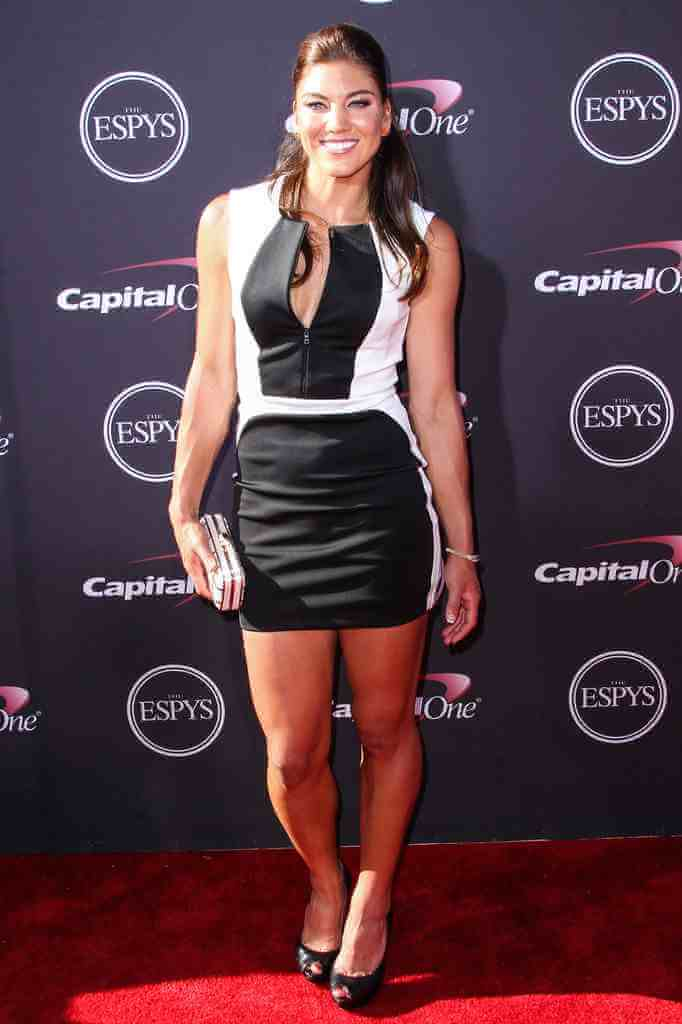 Hope Solo hot thighs