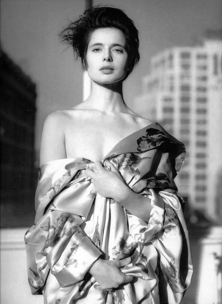 Isabella Rossellini awesome