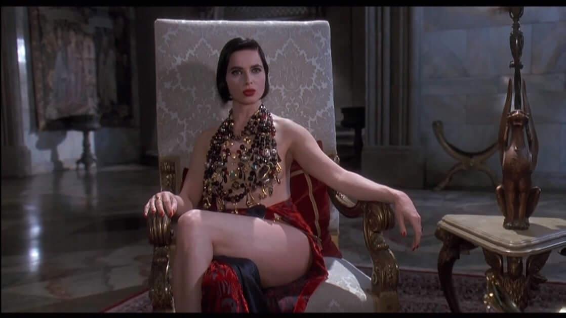 Isabella Rossellini near nude