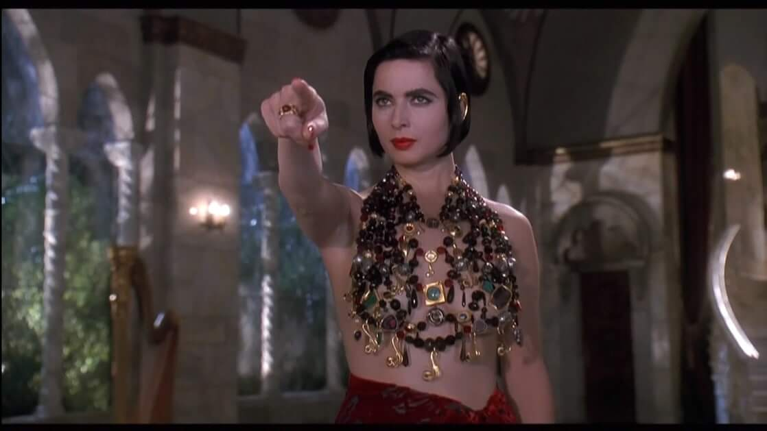 Isabella Rossellini side boobs sexy