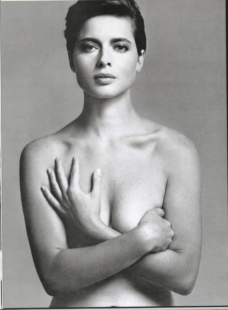 Isabella Rossellini topless