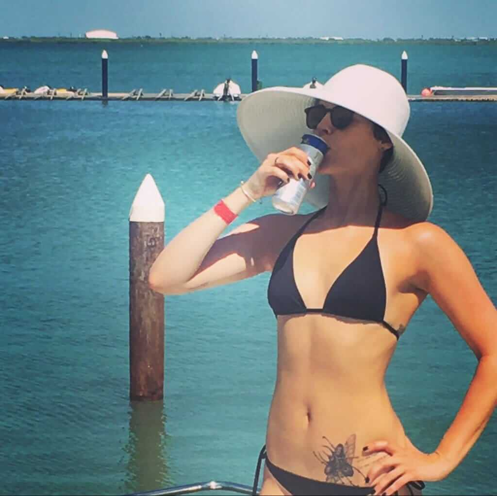 Jamie Alexander sexy bikini