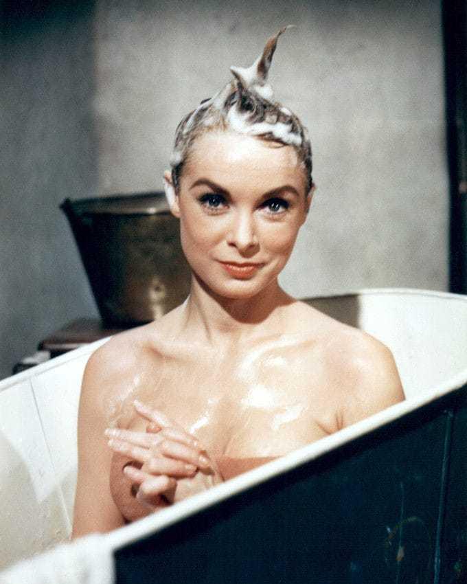 Janet Leigh near nude