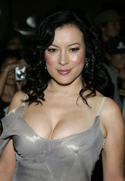 Jennifer Tilly sexy cleavage pic