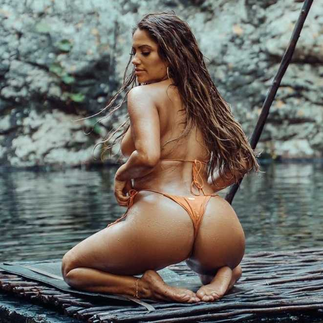 Jessica Burciaga butt