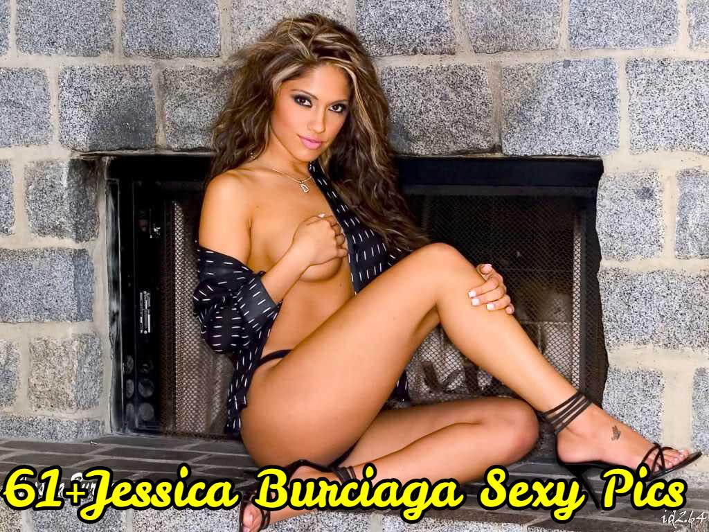 Jessica Burciaga near nude