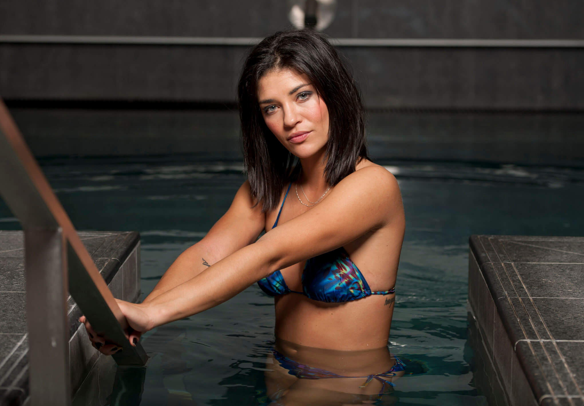 Jessica Szohr bikini photo