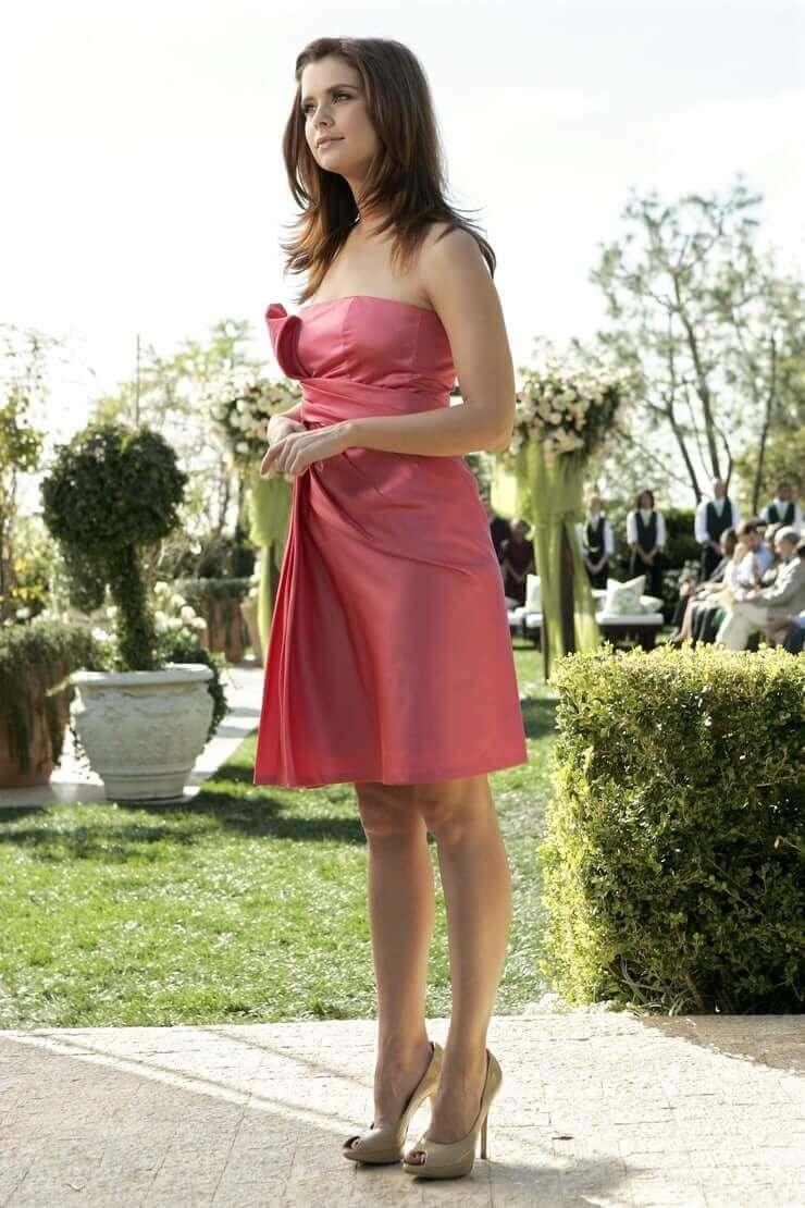 Joanna García feet high heels