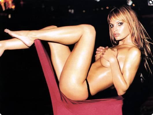 Jolene Blalock sexy near-nude pic