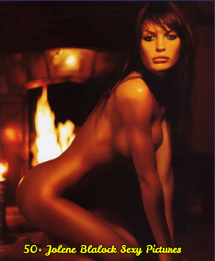 Jolene Blalock sexy side boobs pictures