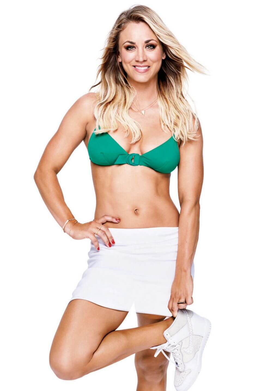 Kaley Cuoco hot lingerie pics