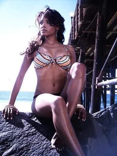 Kat Graham bikini pictures