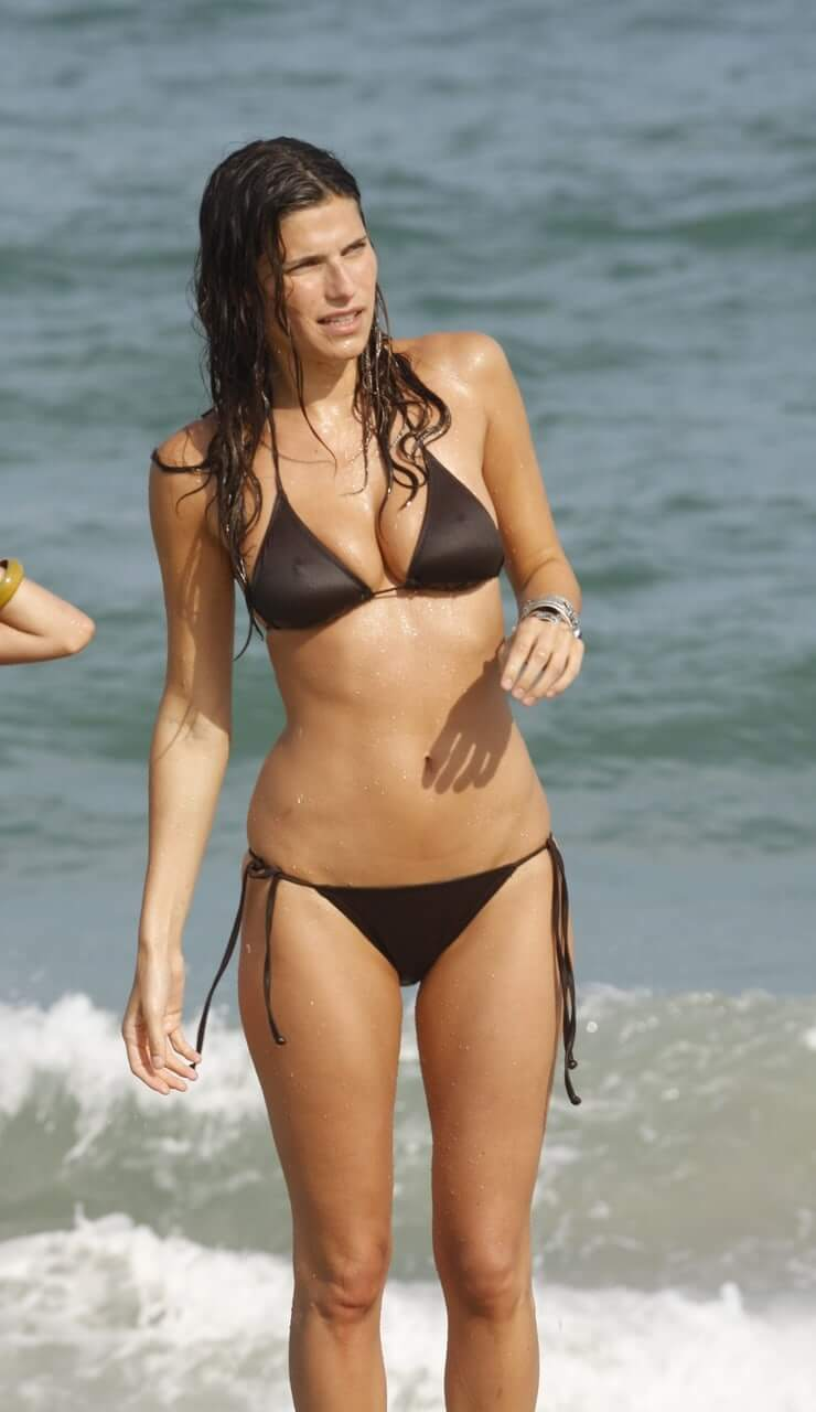 Lake Bell hot bikini pictures