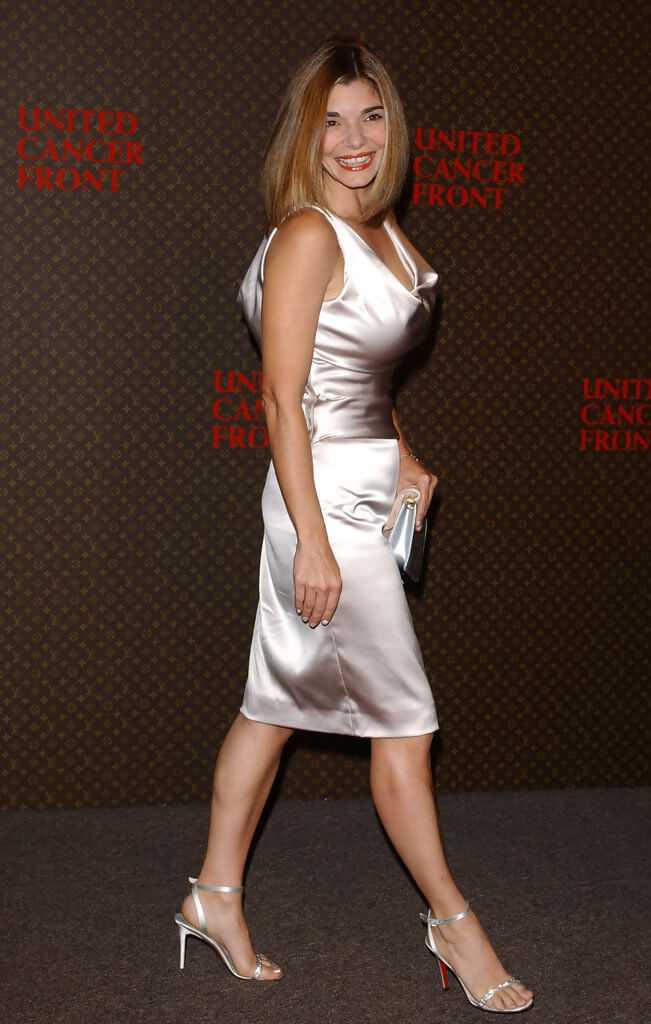 Laura-San-Giacomo-white-sexy-dress