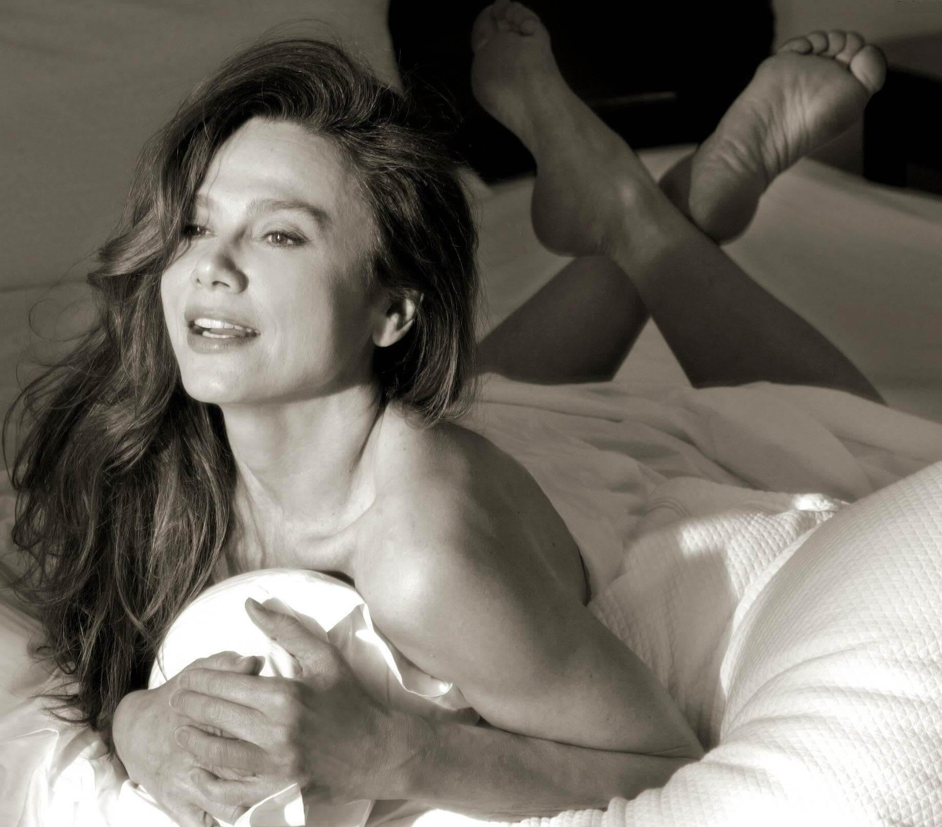 Lena Olin near nude