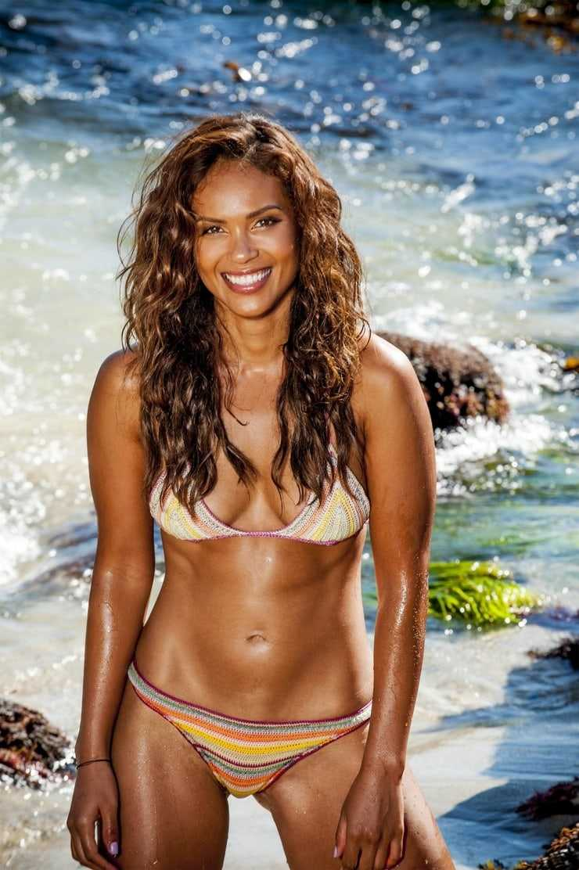 Lesley-Ann Brandt bikini