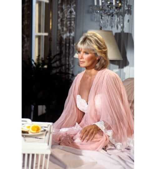 Linda Evans sexy look