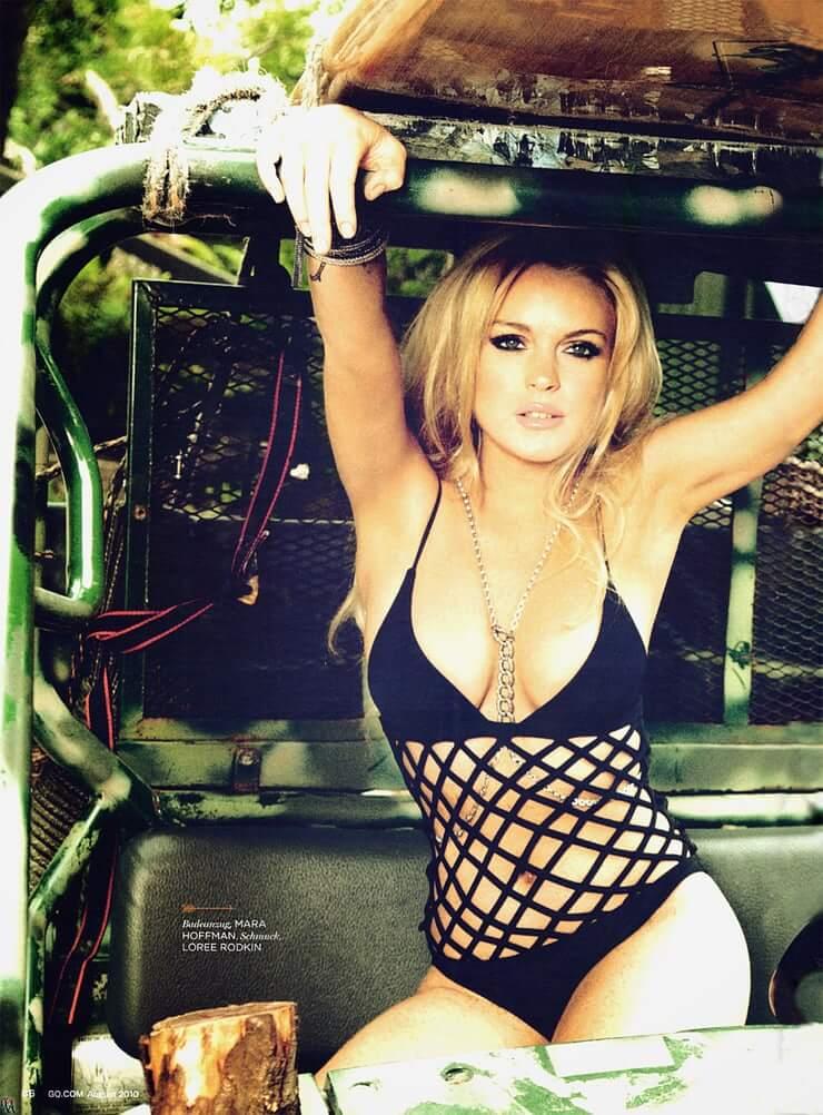 Lindsay Lohan sexy image