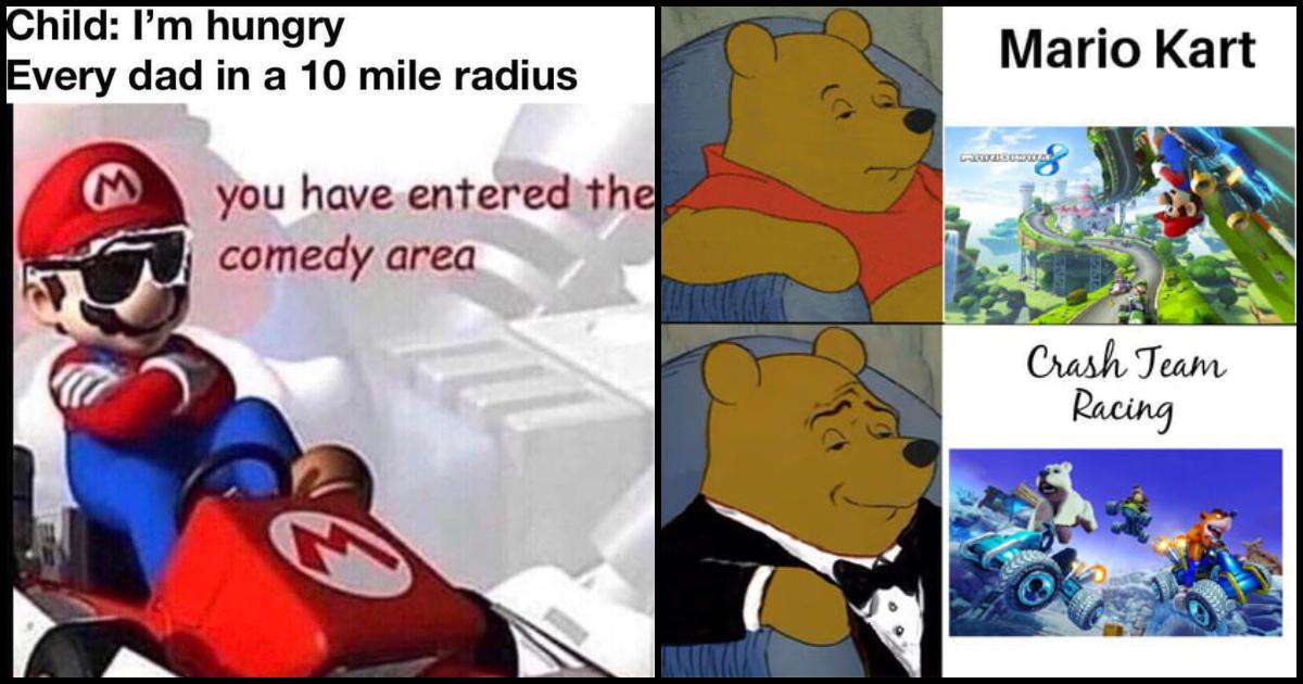 100 Mario Kart Memes Based On The Popular Go Kart Video
