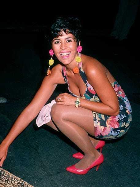 María Conchita Alonso feet hot
