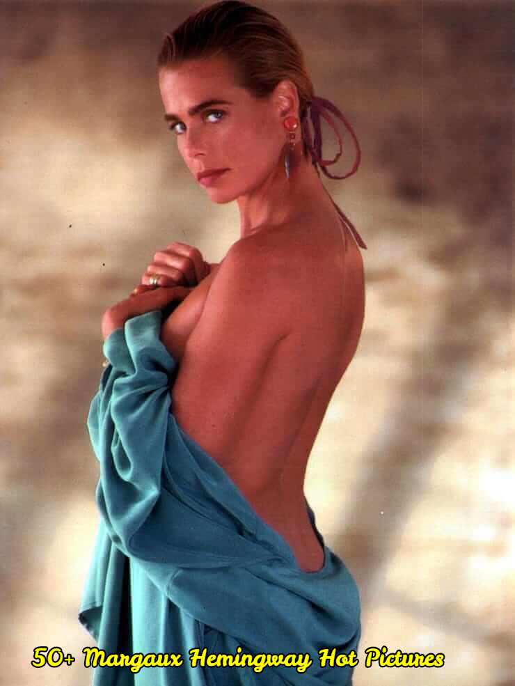 Margaux Hemingway sexy back look