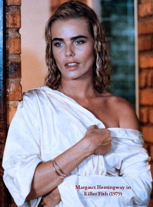 Margaux Hemingway sexy look pic