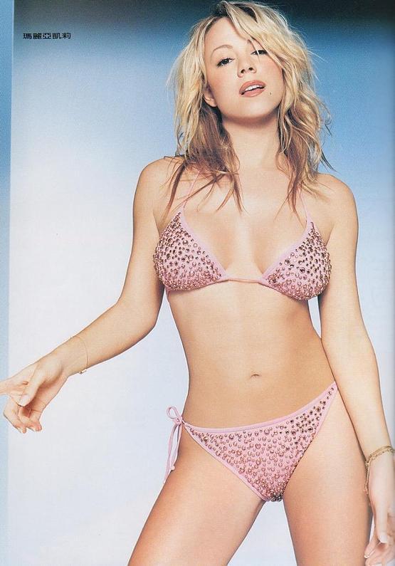 Mariah Carey hot lingerie pic
