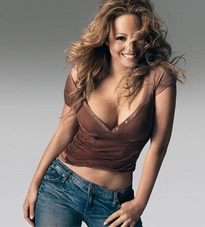 Mariah Carey sexy busty pics