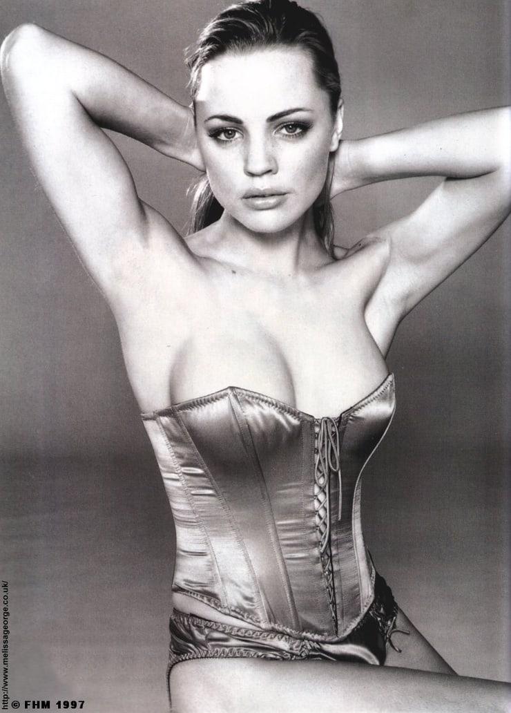 Melissa George cleavage