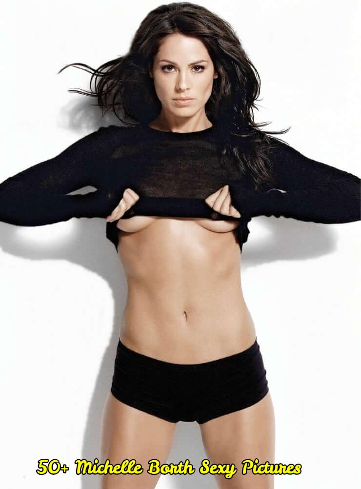 Michelle Borth sexy navel pic