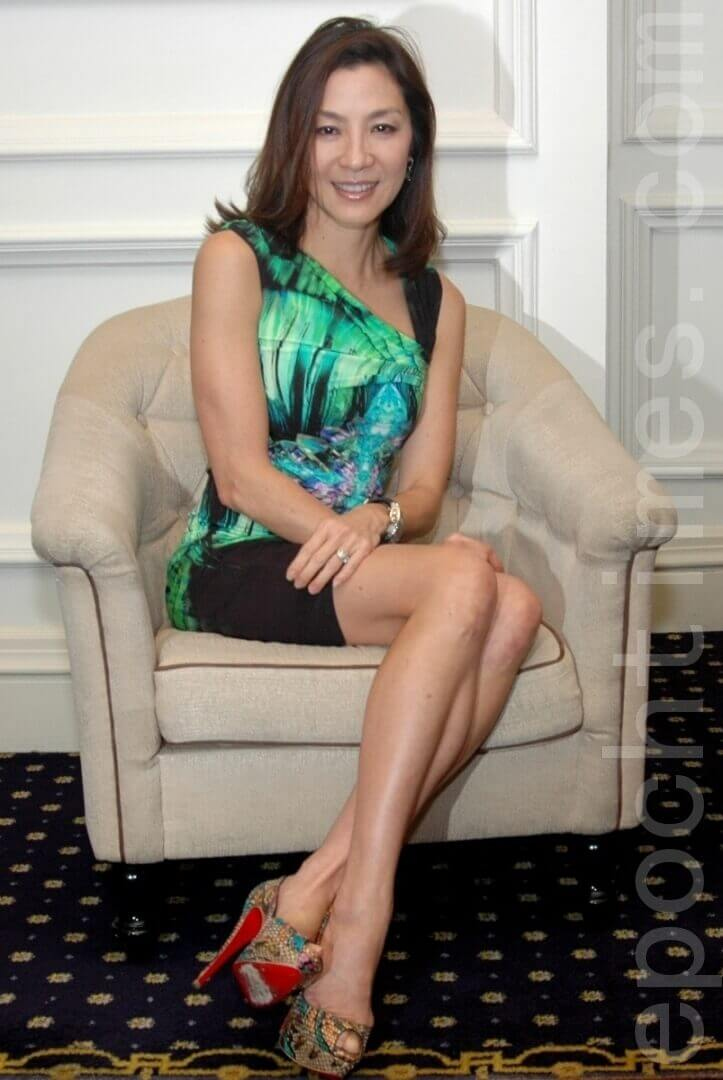Michelle Yeoh feet pictures