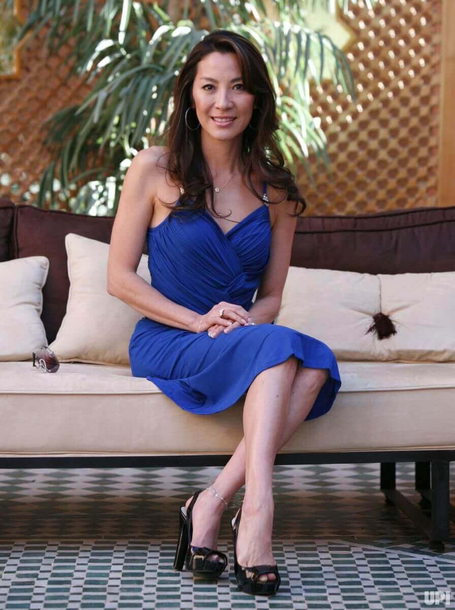 Michelle Yeoh hot feet pic