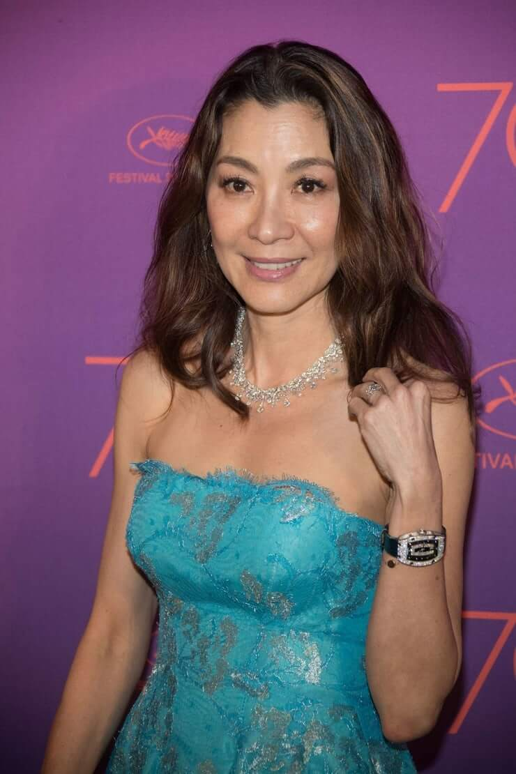 Michelle Yeoh hot photo