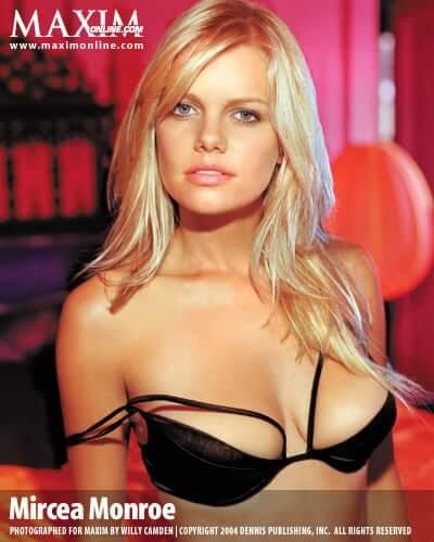 Mircea Monroe hot cleavage