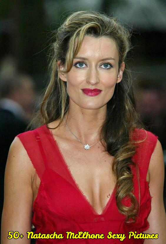 Natascha McElhone sexy cleavage pictures
