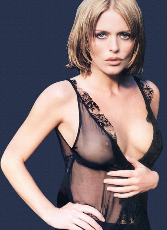 Patsy Kensit hot cleavage