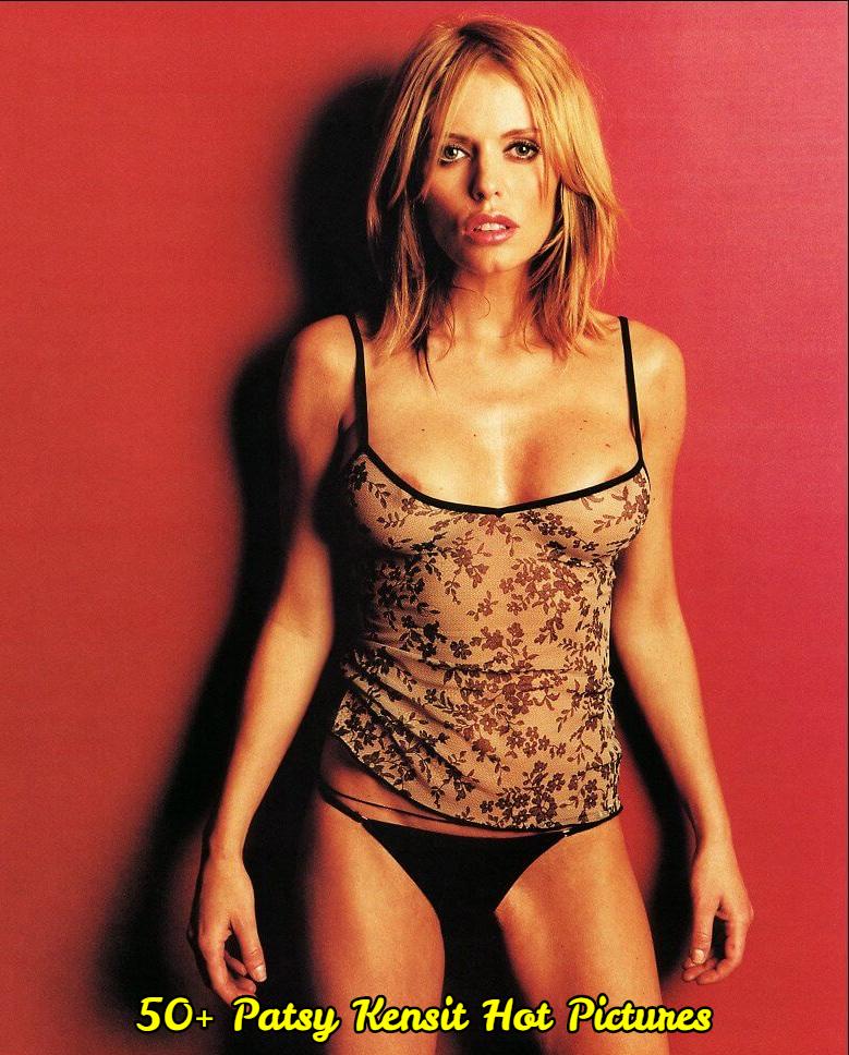 Patsy Kensit hot cleavage (2)