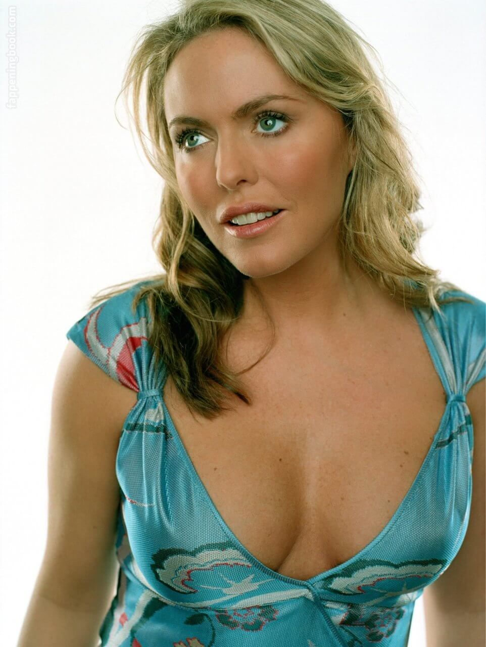 Patsy Kensit sexy cleavage