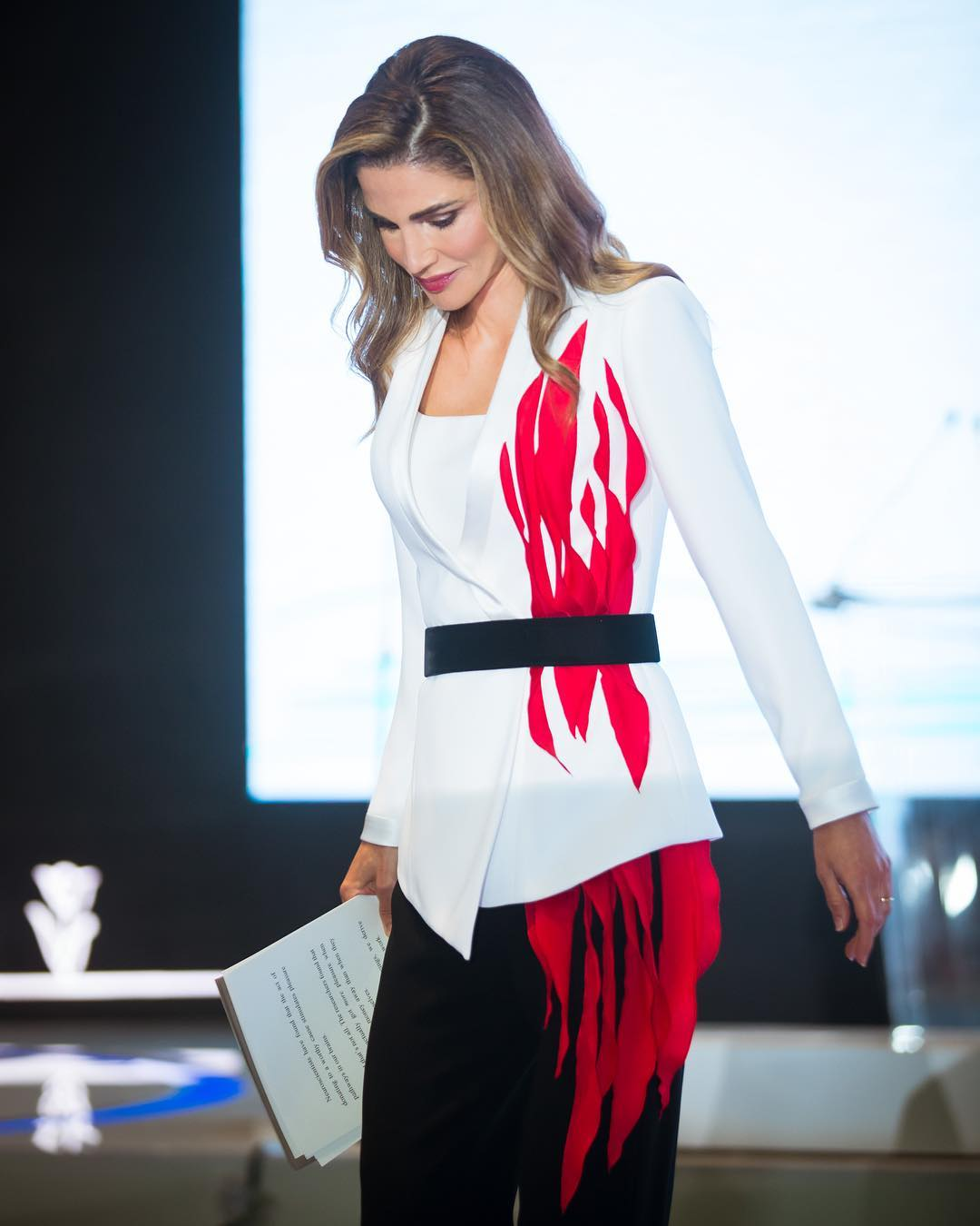 Queen Rania awesome