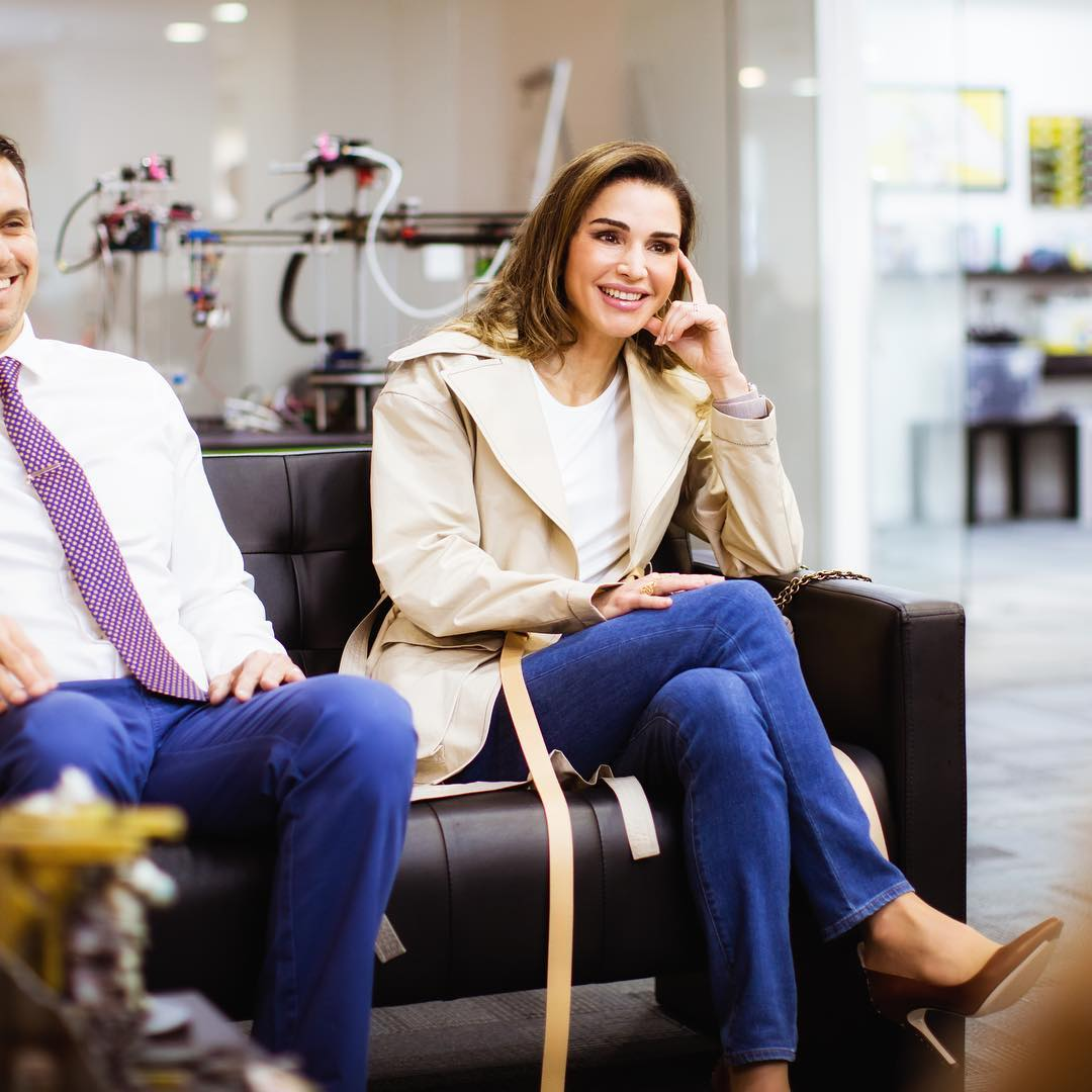 Queen Rania feet hot