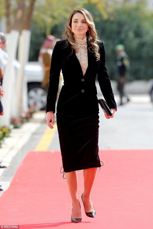 Queen Rania hot pictures