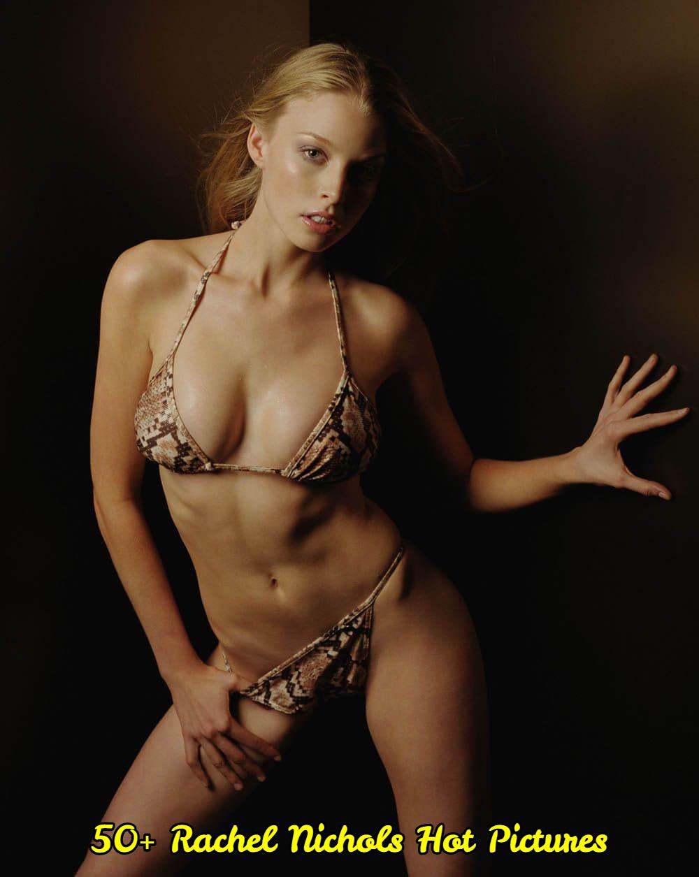 Rachel Nichols sexy look pictures